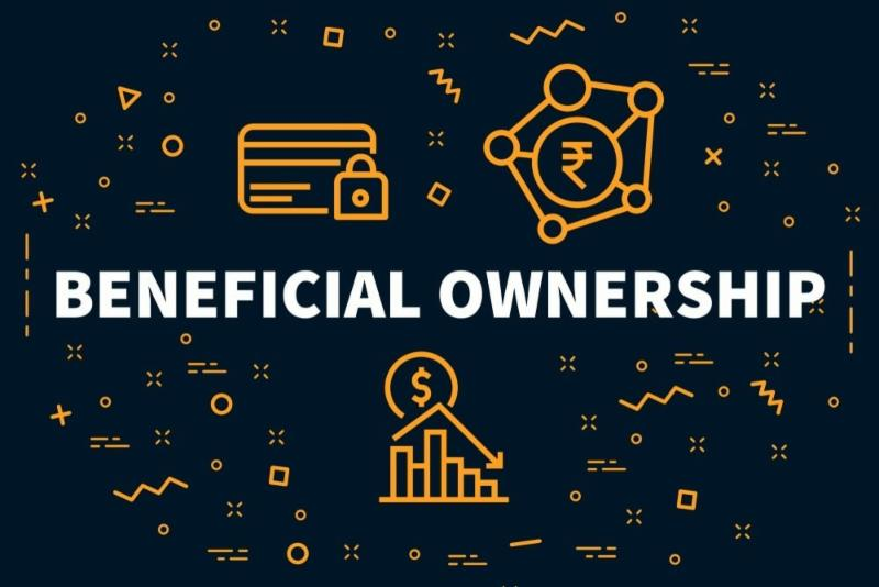 Registration of ultimate beneficial ownership